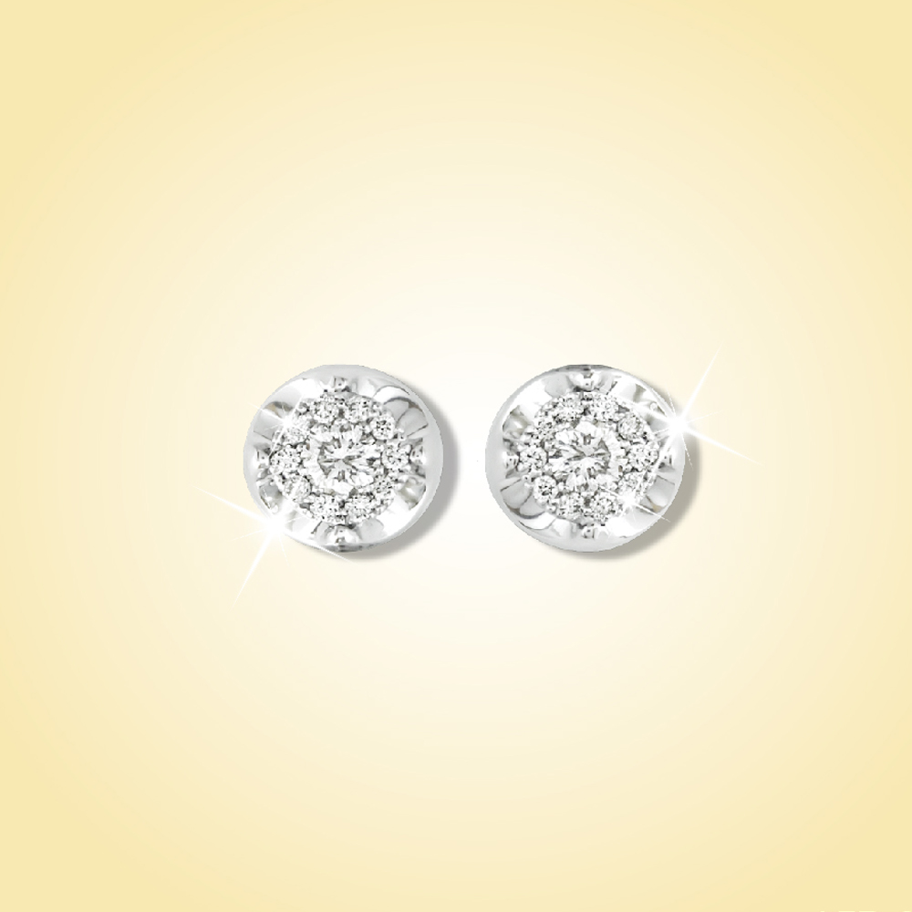 Tennis Stud Earrings