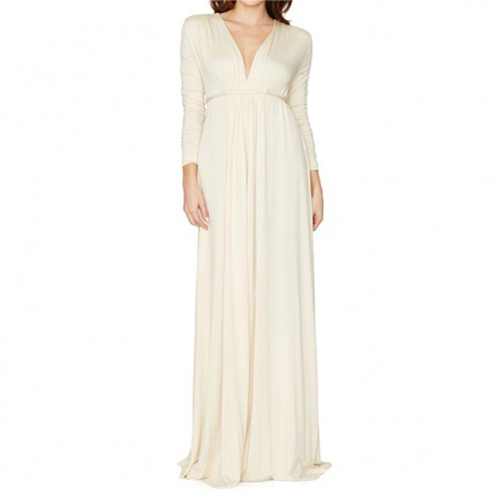 Rachel Pally Long Sleeve Maternity Caftan Dress