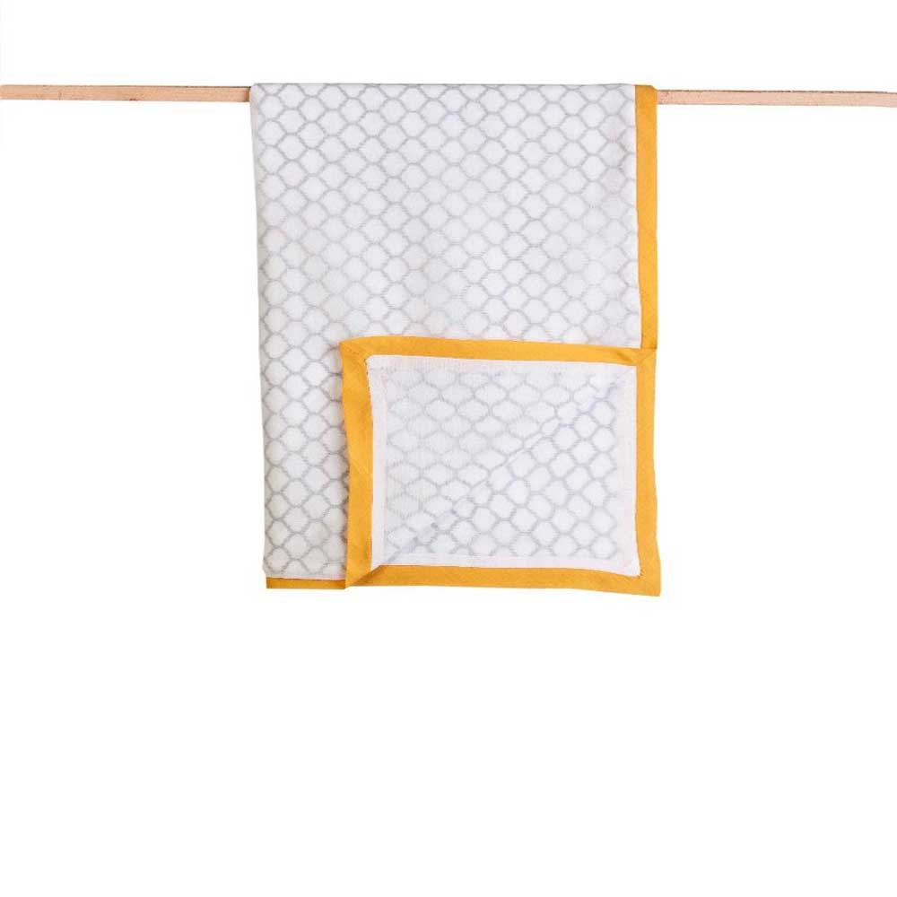 Receiving Blankets - Organic Cotton, Hand Block Printed Erawan