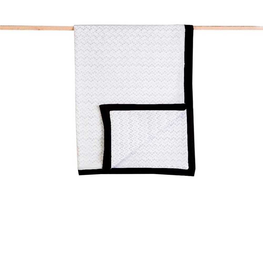 Receiving Blankets - Organic Cotton, Hand Block Printed Greenwich
