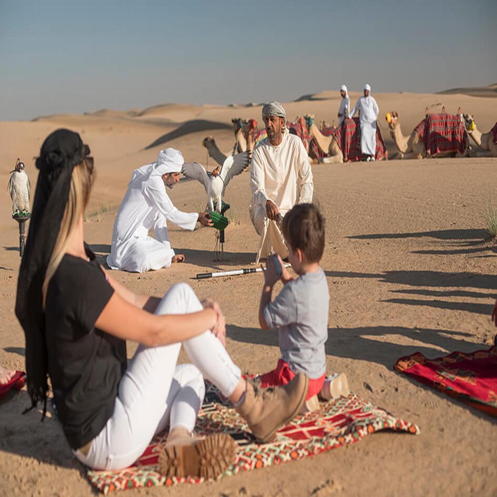 Evening Al Marmoom Bedouin Experience
