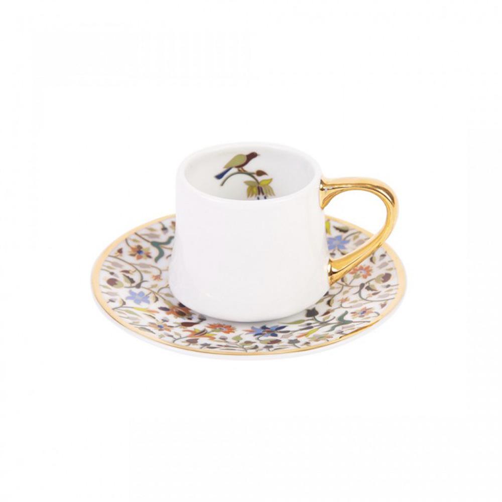 Silsal Majestic Espresso Cup & Saucer