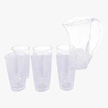 Oliver 8-Piece Pitcher and Tumbler Set