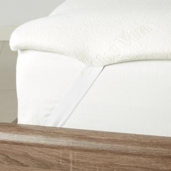 Healthguard Memory Foam Mattress Topper - 155x205+4 cms