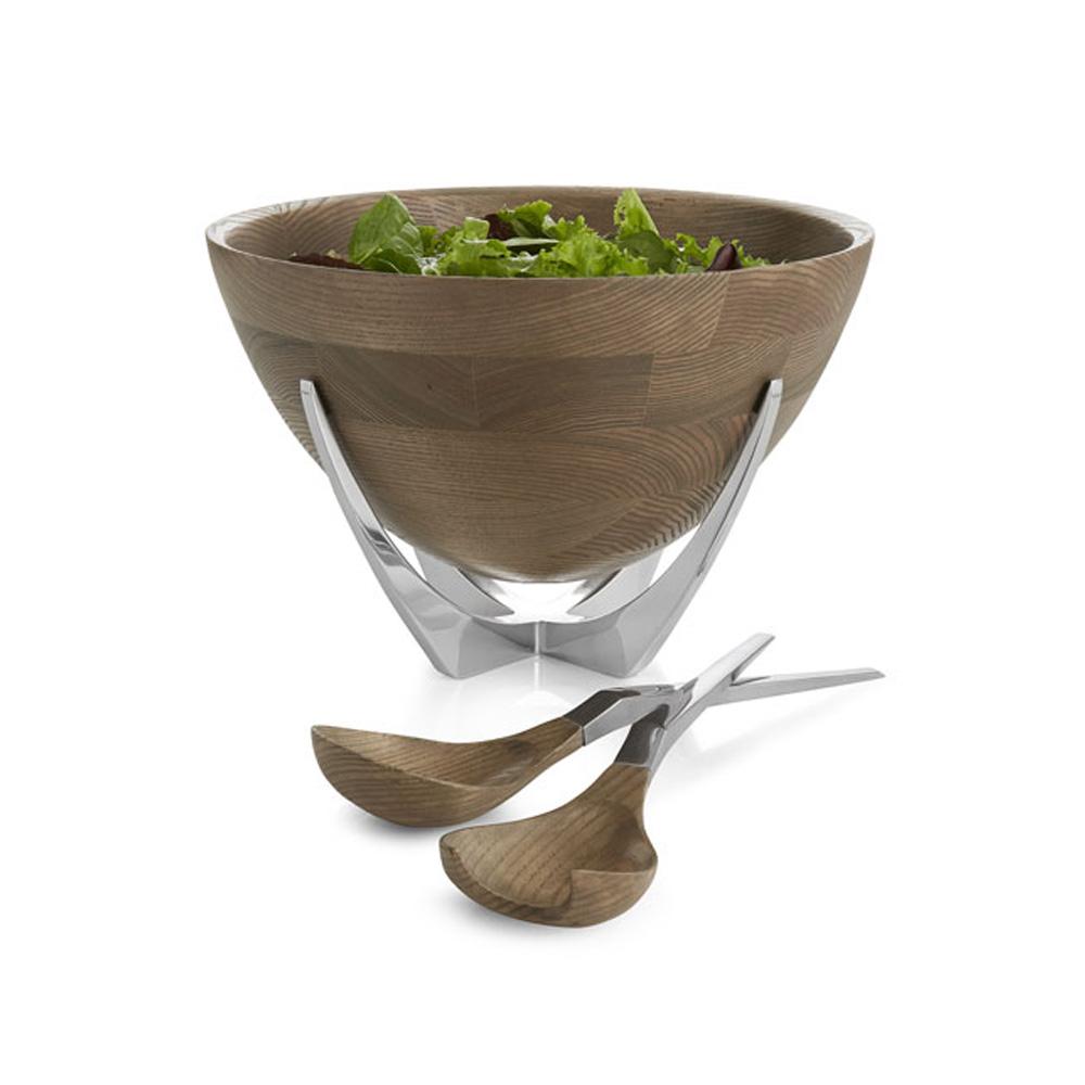 Cabo Salad Bowl and Servers