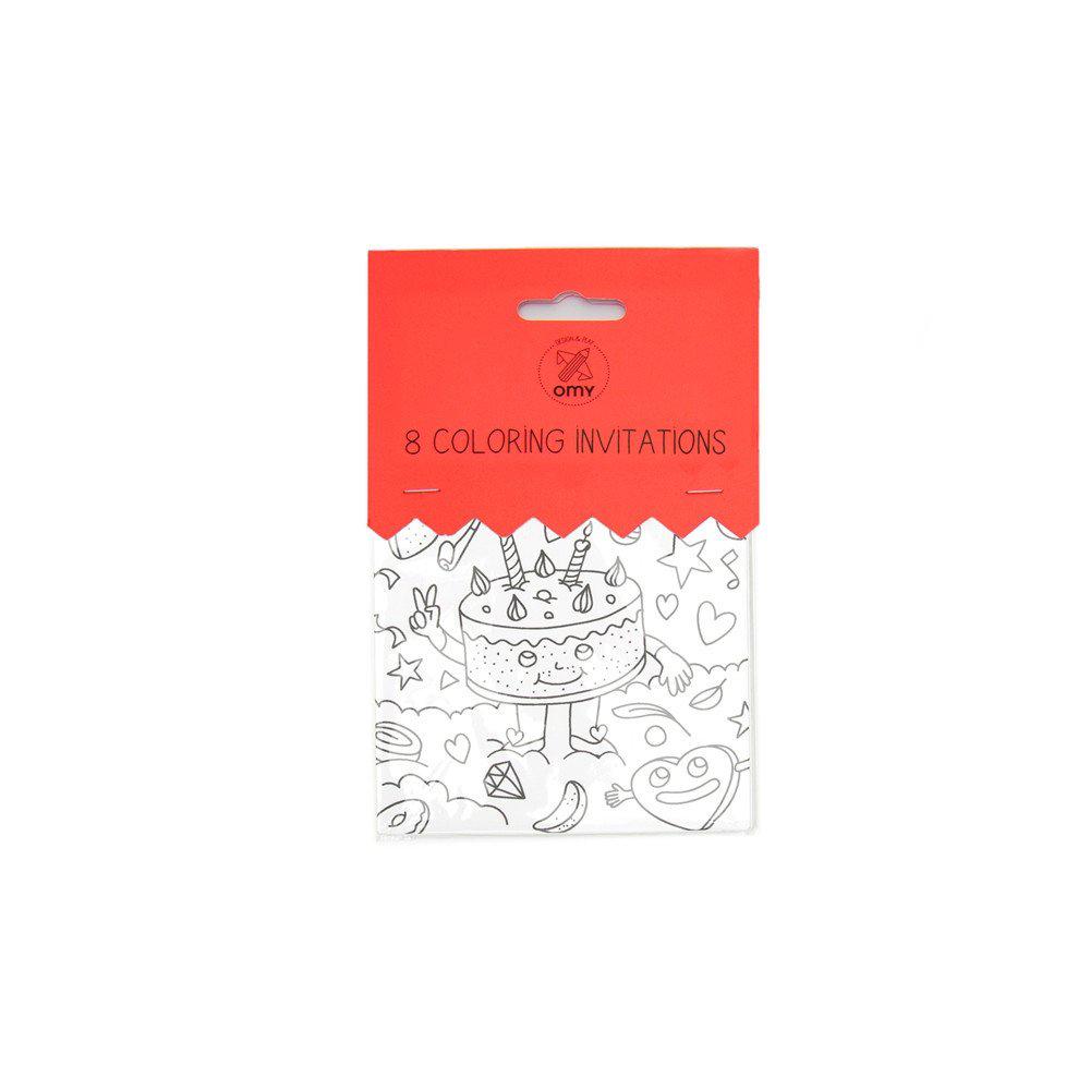 Birthday set - Invitation Cards
