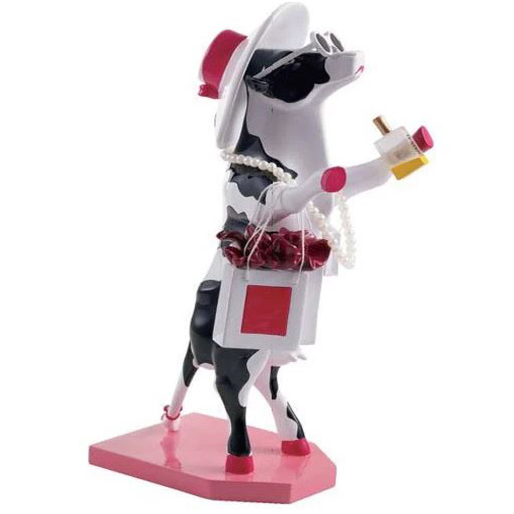 Cow Parade Alphadite Goddess of Shopping