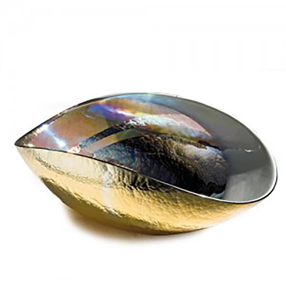 TANGO GOLD Medium folded bowl