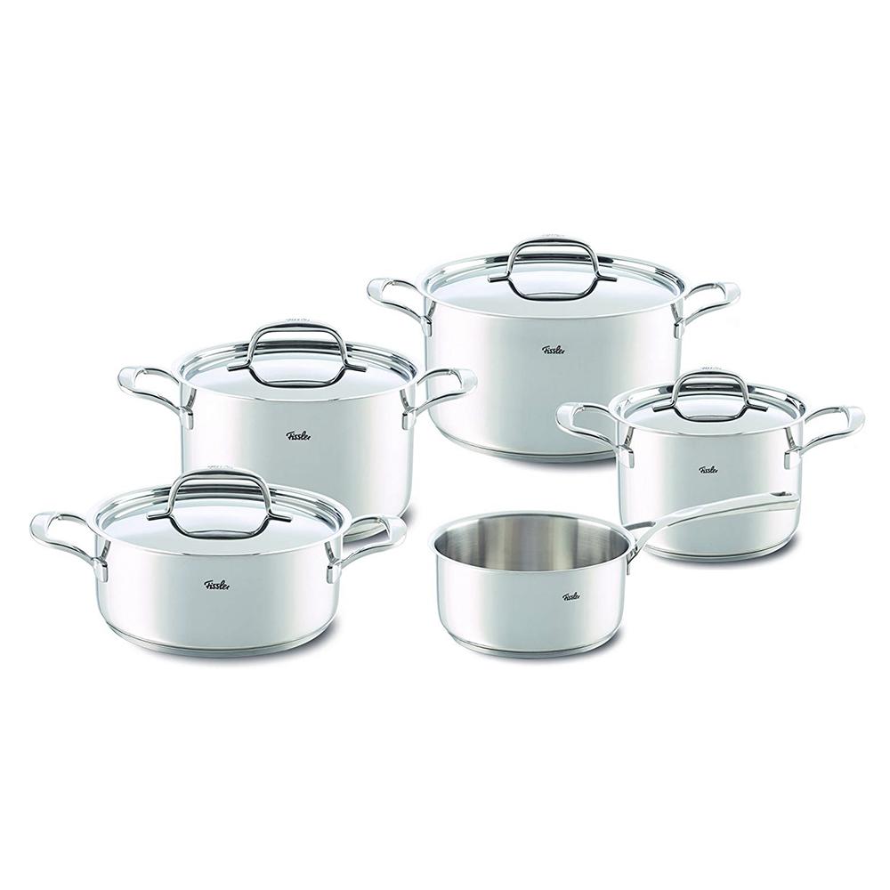 Riva S/S Cookware Set 9Pcs
