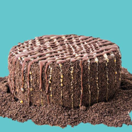Sweet Salvation Bangin Brownie Ice Cream Cake