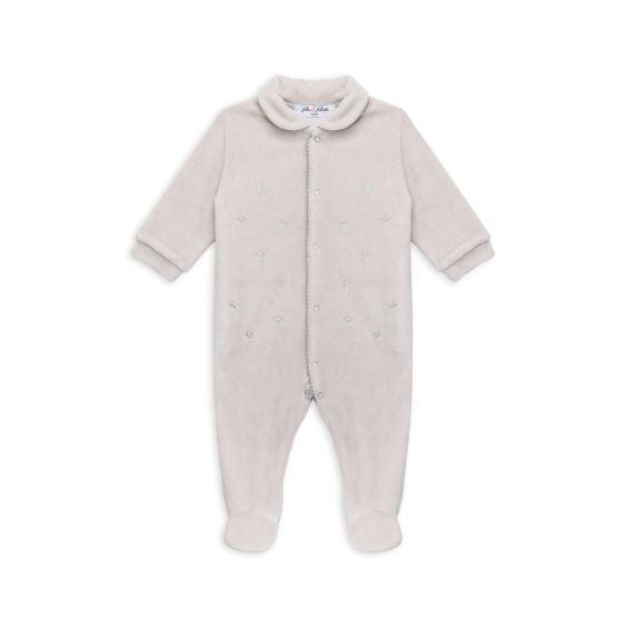 Alan Pyjama Babygrow Velvet