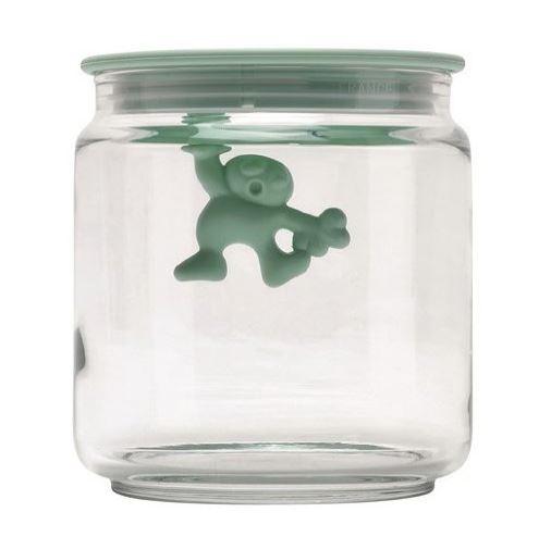 Alessi  Jar Glass Gianni LID 70CL Blue