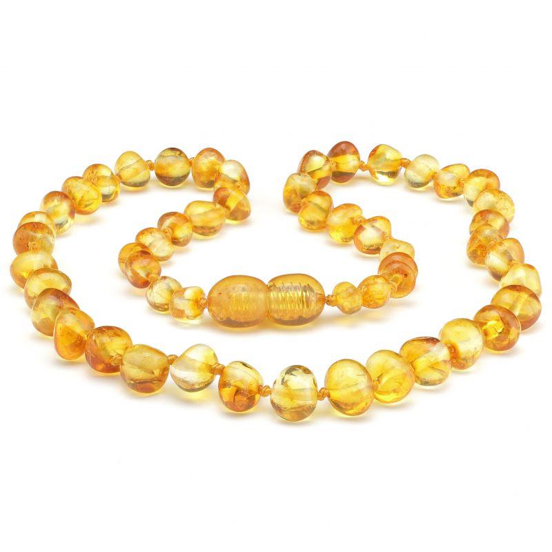 Amber Necklace - Honey