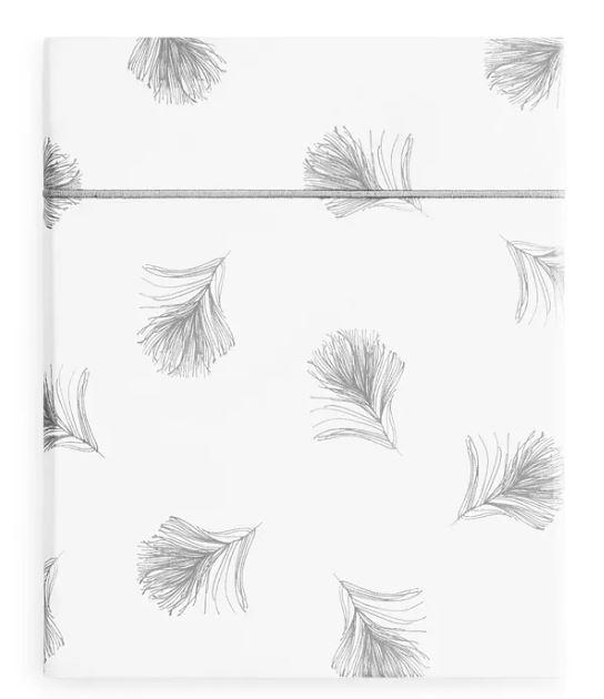 Anne de Solene Plume Flat Sheet