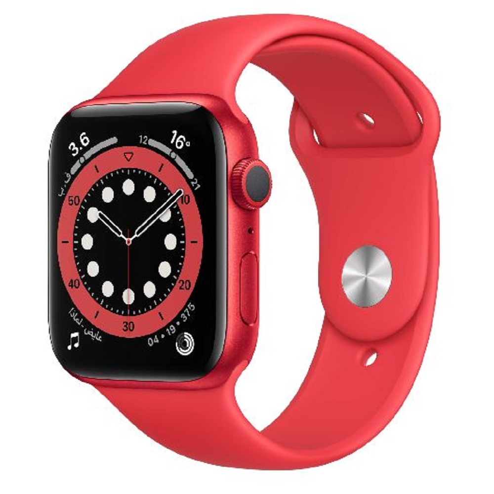 Apple Watch Series 6 GPS, Aluminium Case with Sport Band 44 mm