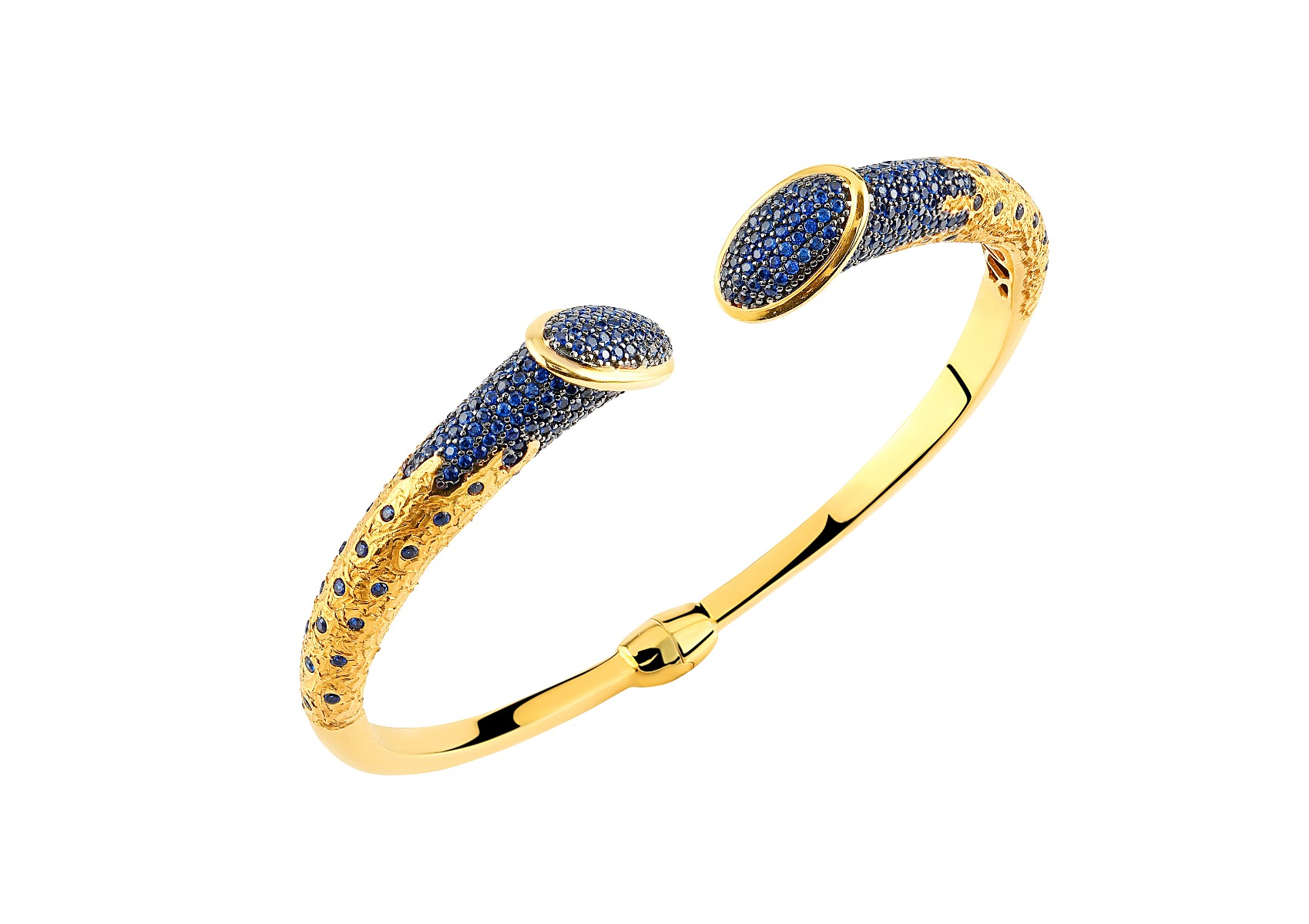 ASG Bangle With Sapphire