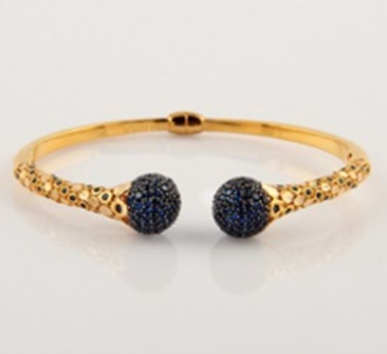 ASG Bangle With Sapphires
