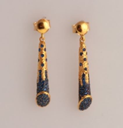 ASG Earrings With Sapphire
