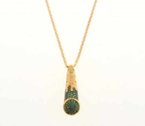 ASG Necklace With Green Quartz