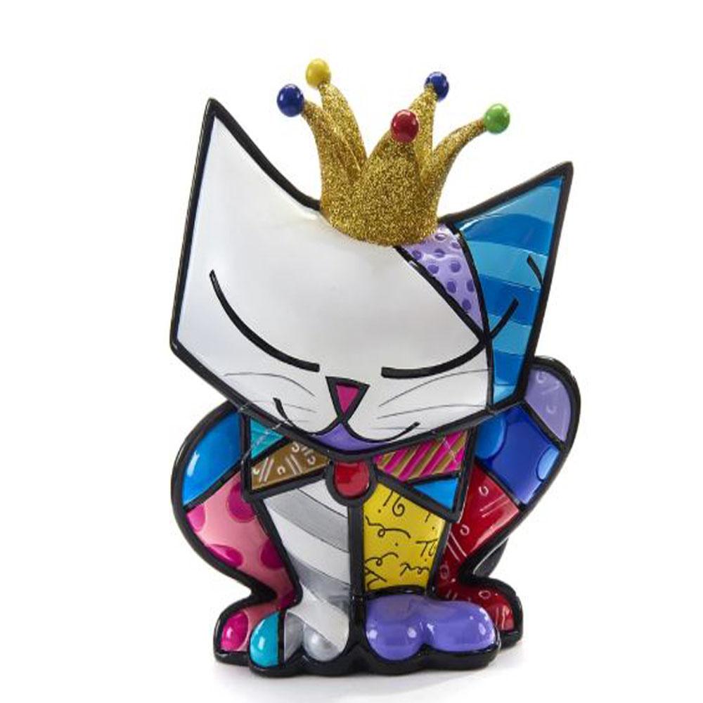 Romero Britto Anniversary Figurine Cat