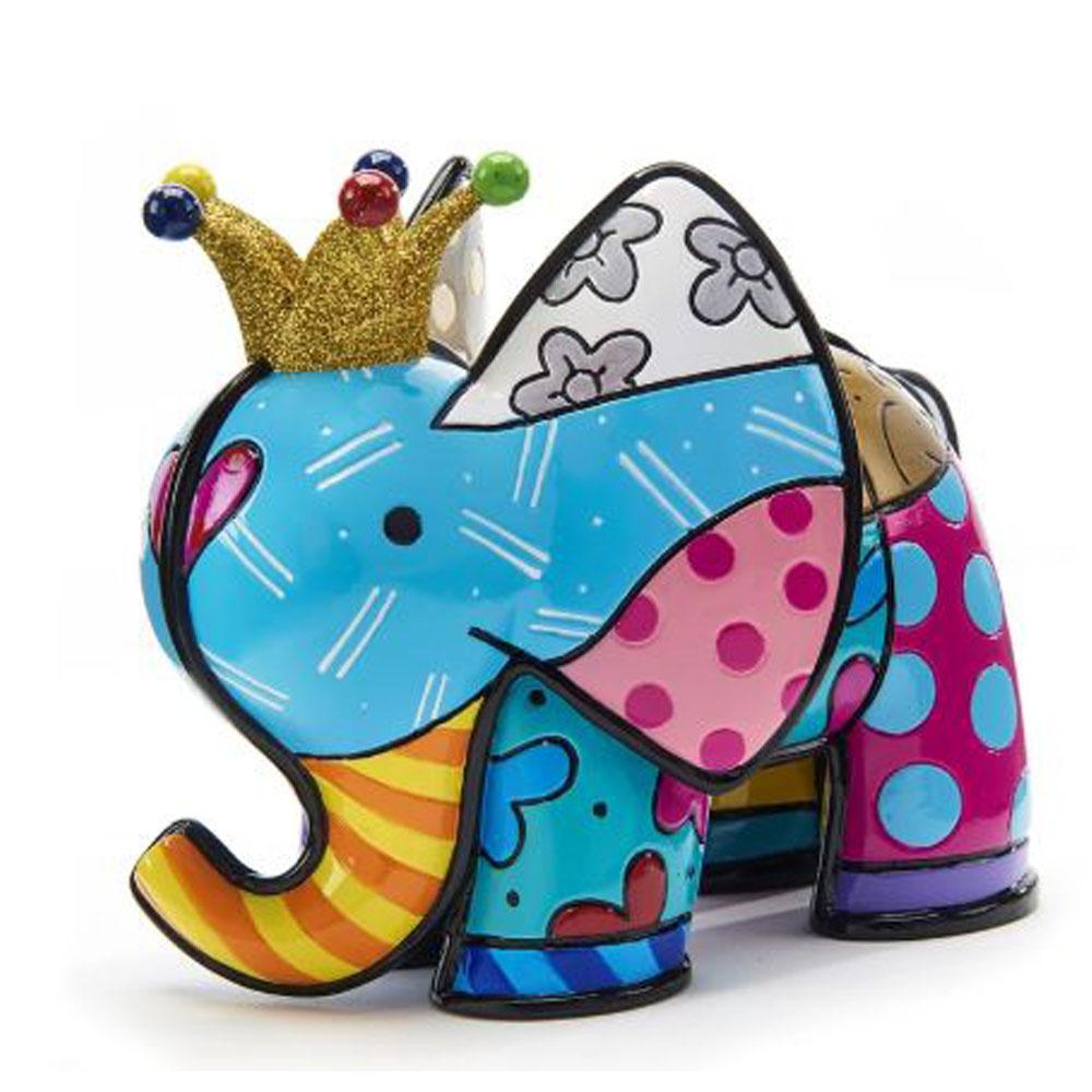 Romero Britto Anniversary Figurine Elephant