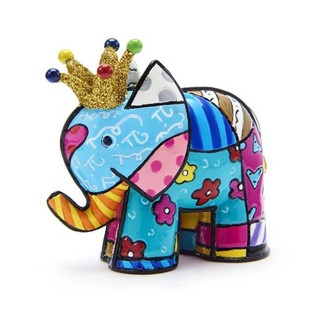 Romero Britto Anniversary Mini Elephant