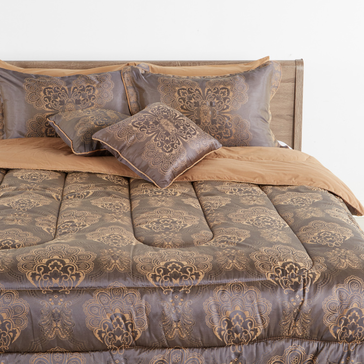 Baroque 8pcs BIAB 250x260Cm - Brown/Gold