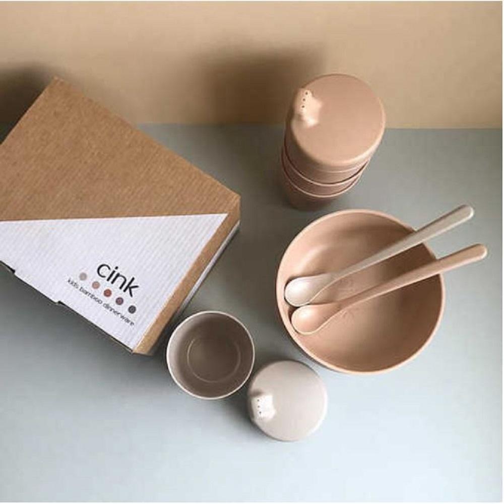 Bamboo Baby Weaning Giftbox Rye, Cink