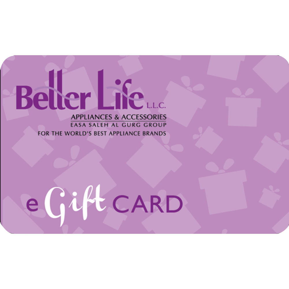 Better Life E-Gift Card AED 2000