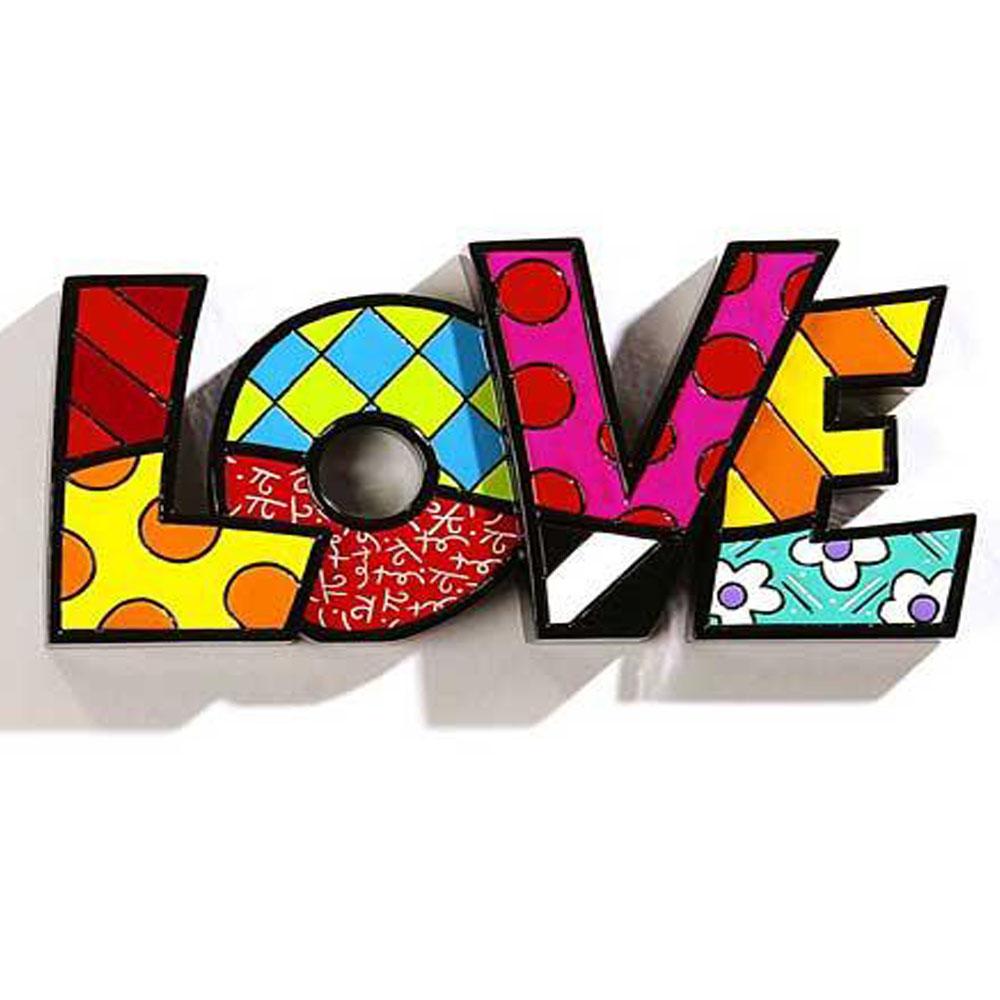 Romero Britto Word Love