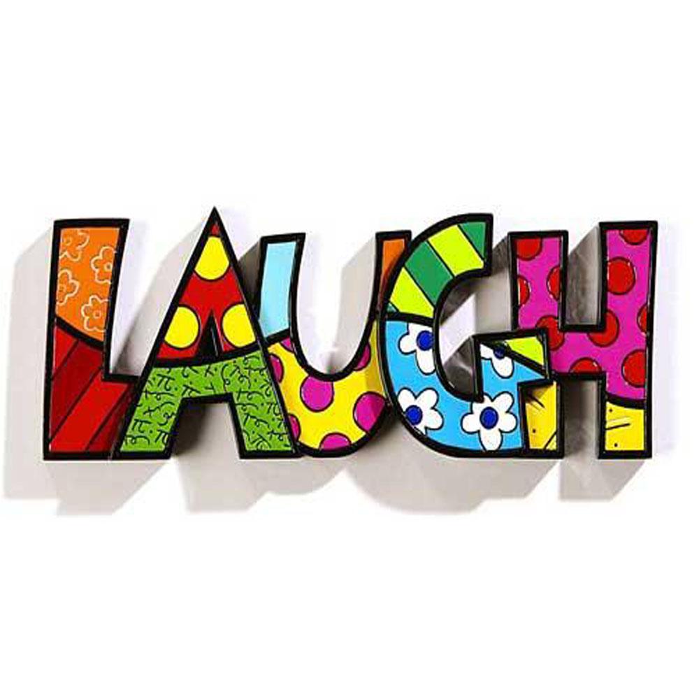 Romero Britto Word Laugh