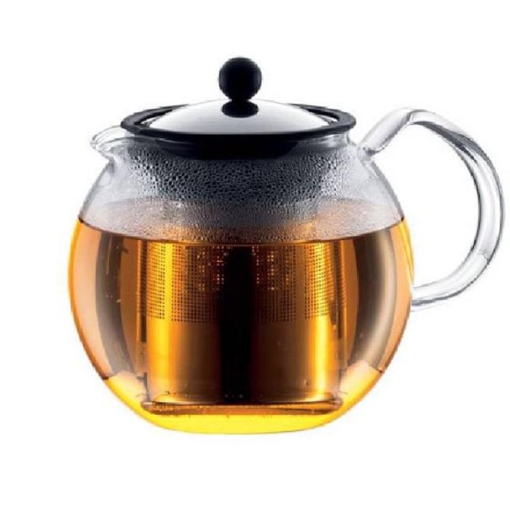 ابريق تحضير الشاي بالكبس أسام من بودم