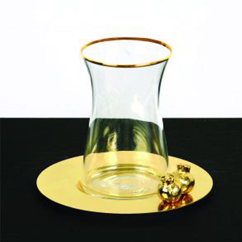 Zarina 3D Pomegranate Tea Cups - Set of 6