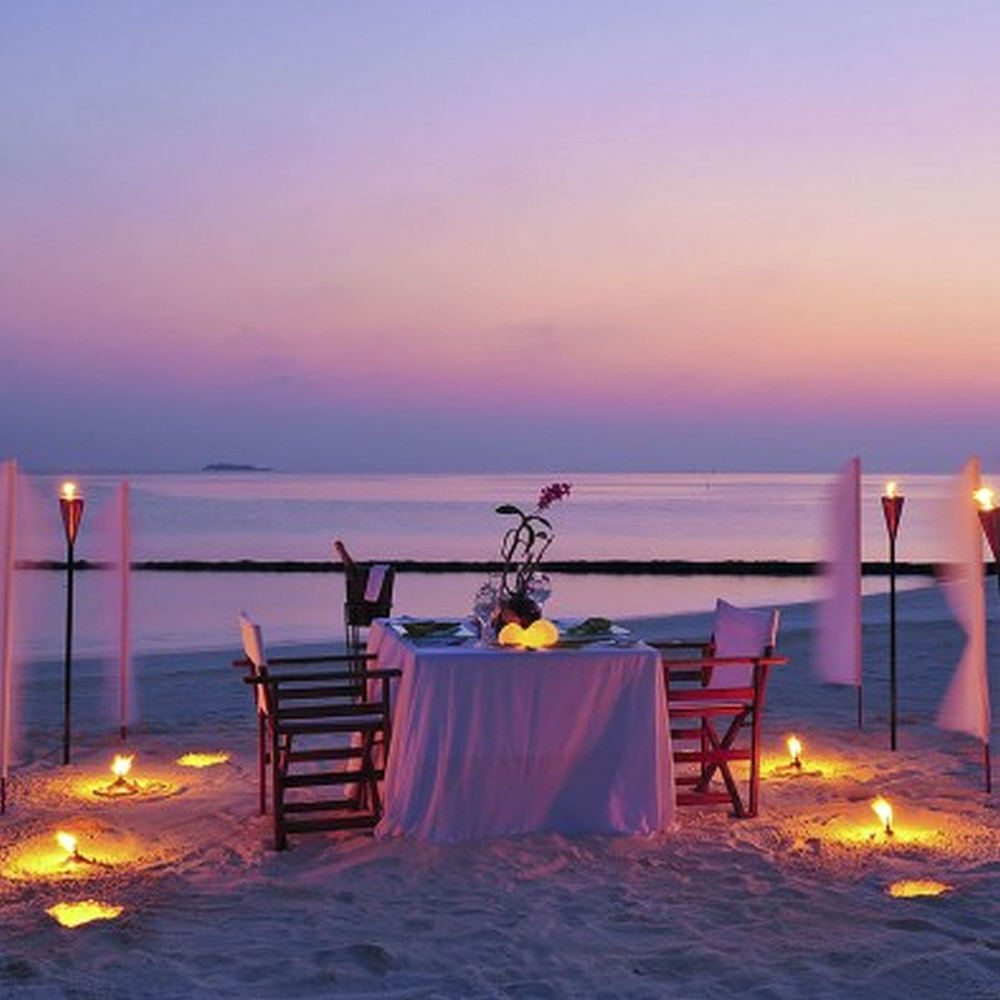 Al Arabi Travel Agency Maldives Private Dinner Under The Stars Contribution