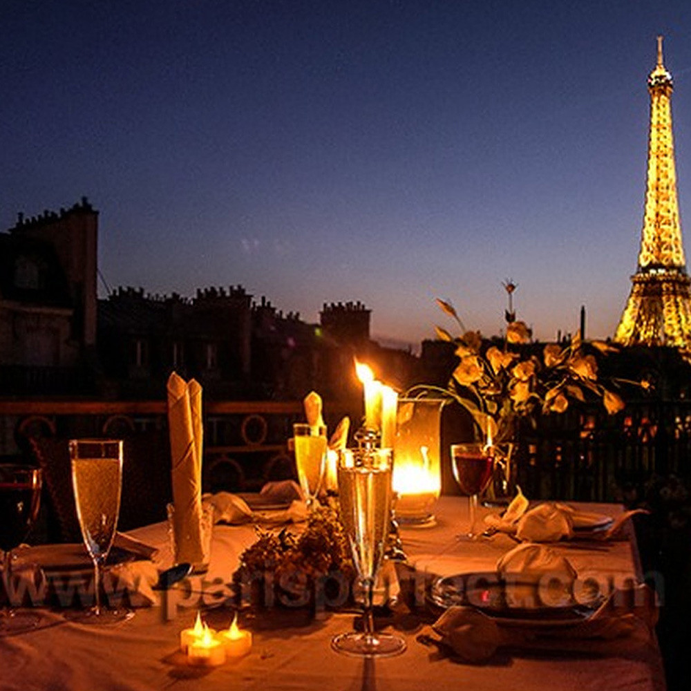 Al Arabi Travel Agency Romantic Dinner in France Contribution