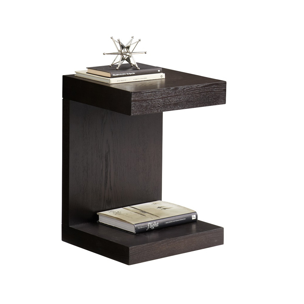 Zen Interiors TV Table with Drawer	 Black