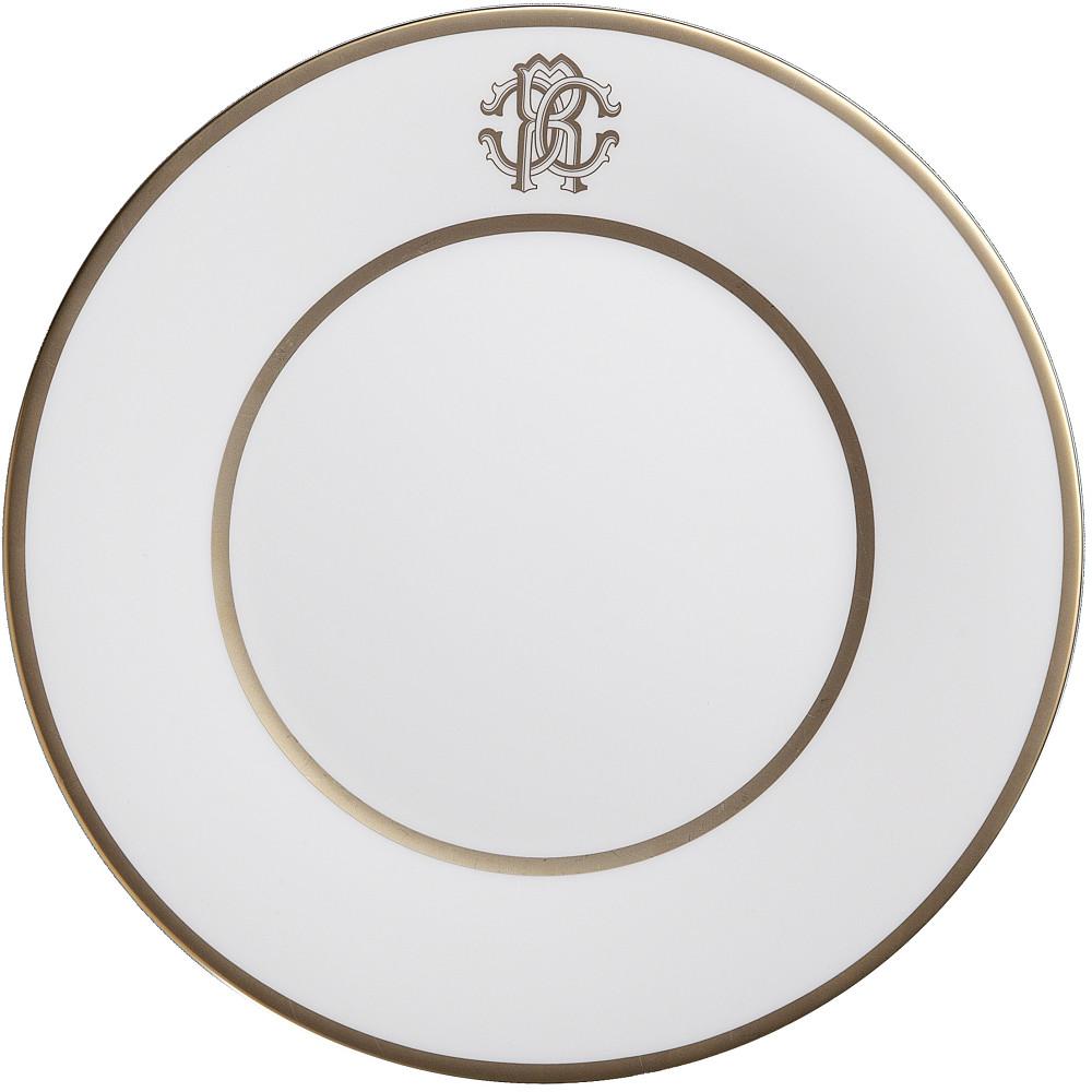 Roberto Cavalli SILK GOLD Dinner Plate