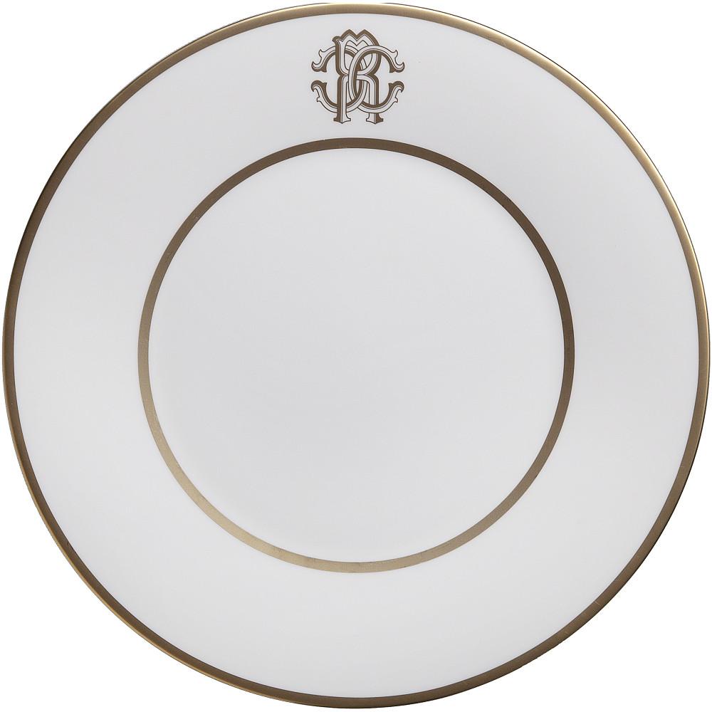 Roberto Cavalli SILK GOLD Dessert Plate