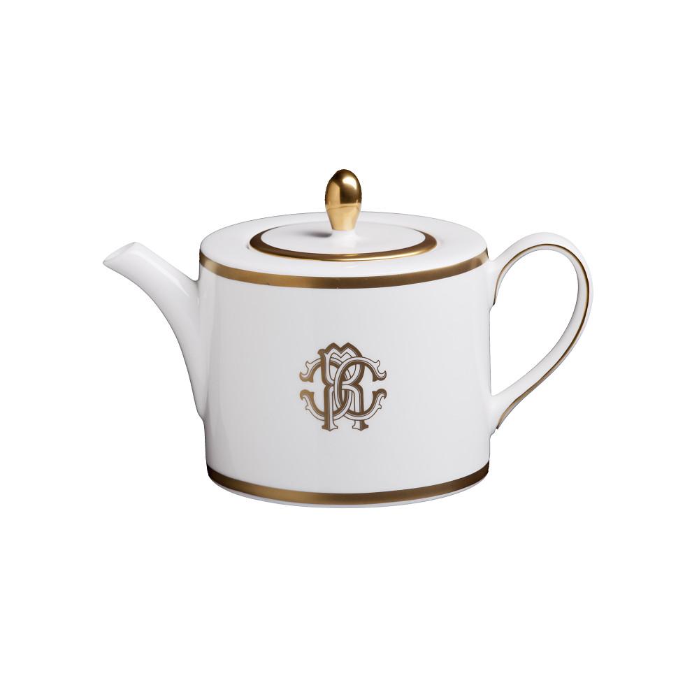 Roberto Cavalli SILK GOLD Tea & Coffee Pot