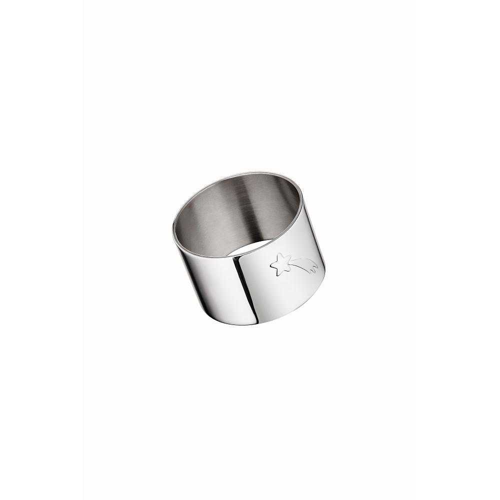 Christofle GALAXIE & CONFETTI Napkin Ring