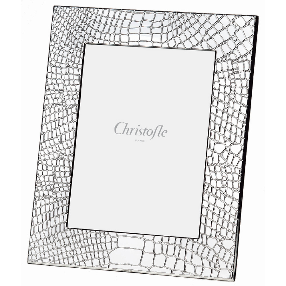 Christofle CROCO ARGENT Picture Frame