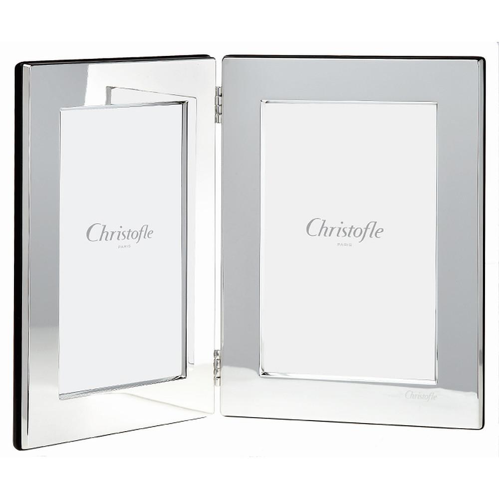 Christofle FIDELIO Double Picture Frame
