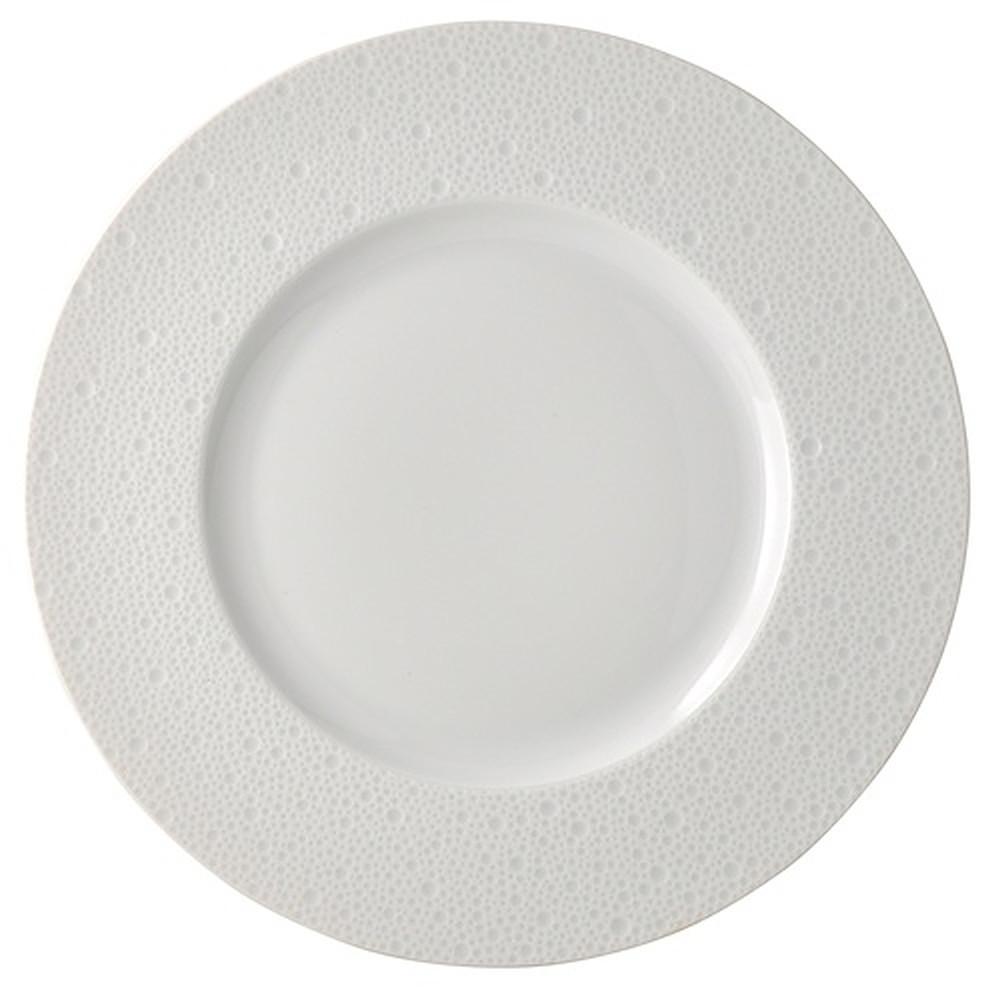 Bernardaud Ecume Salad Plate White