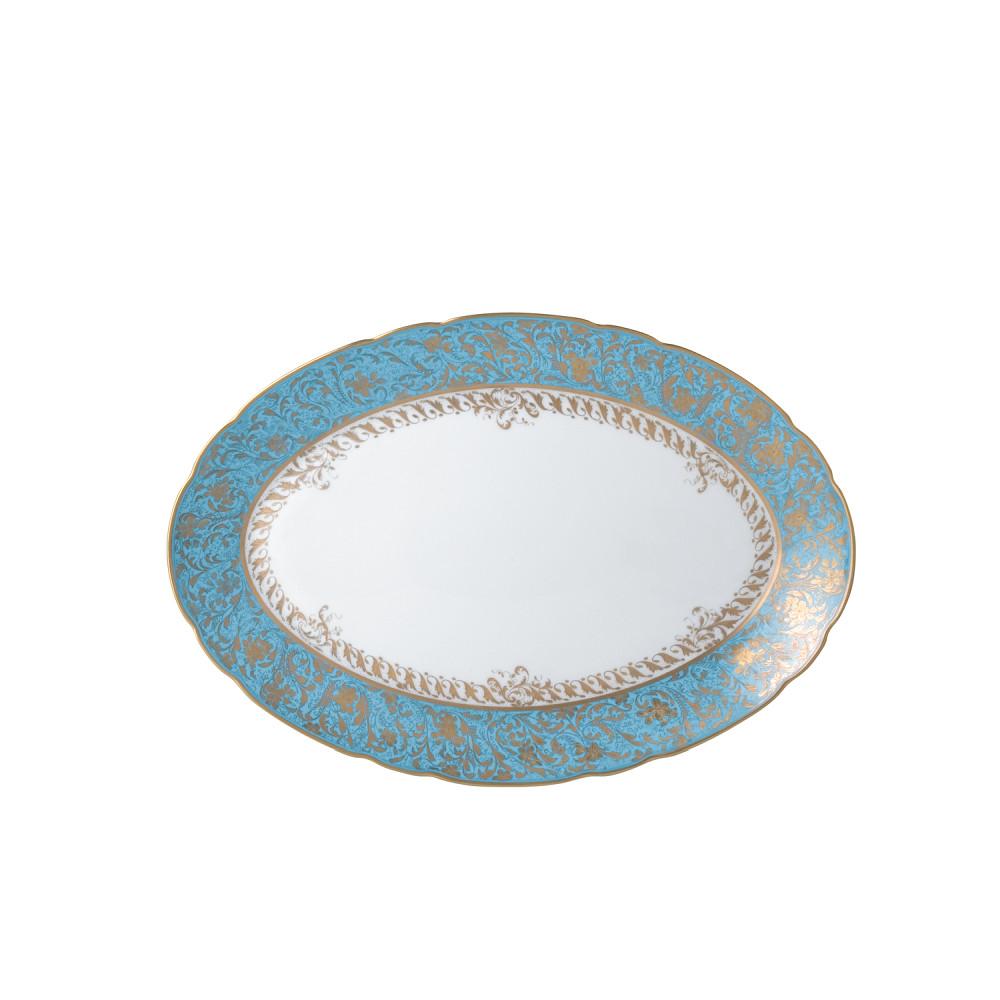 Bernardaud Eden Turquoise Oval Platter