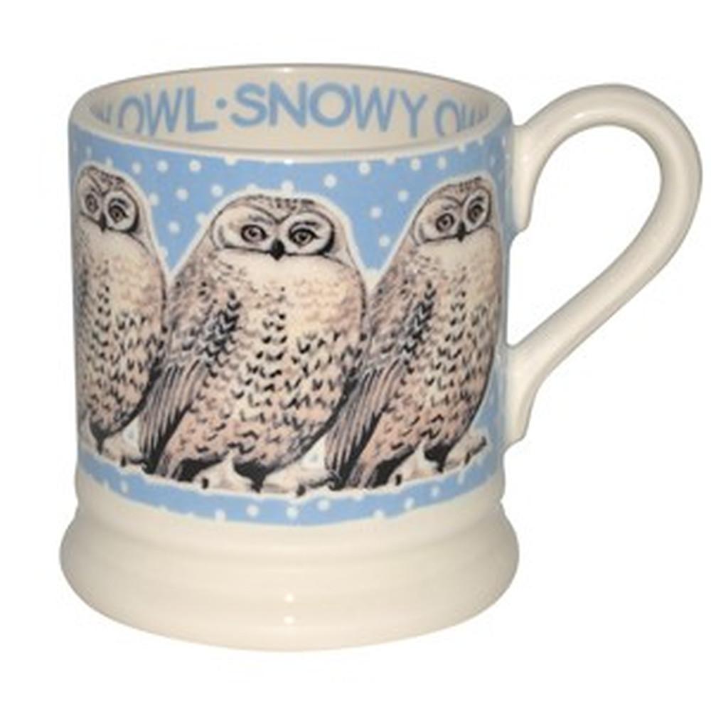 Snowy Owl in a Snowstorm Mug