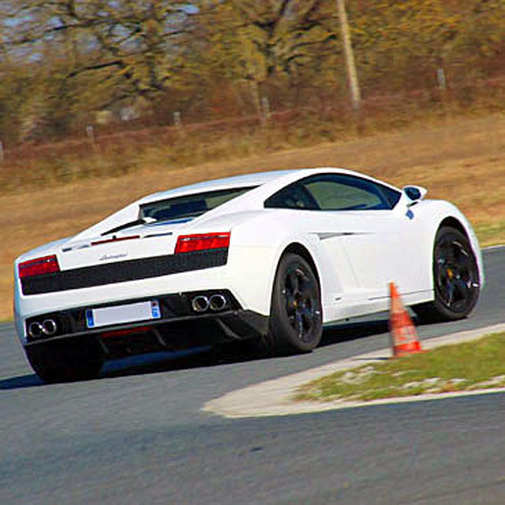3 laps driving a Lamborghini G allardo LP 560 on the Hill circuit