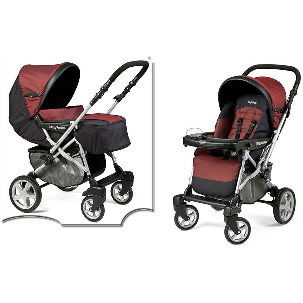 Peg Perego Red Uno Stroller