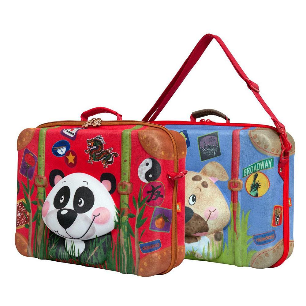 Okiedog Wildpack Suitcase Panda