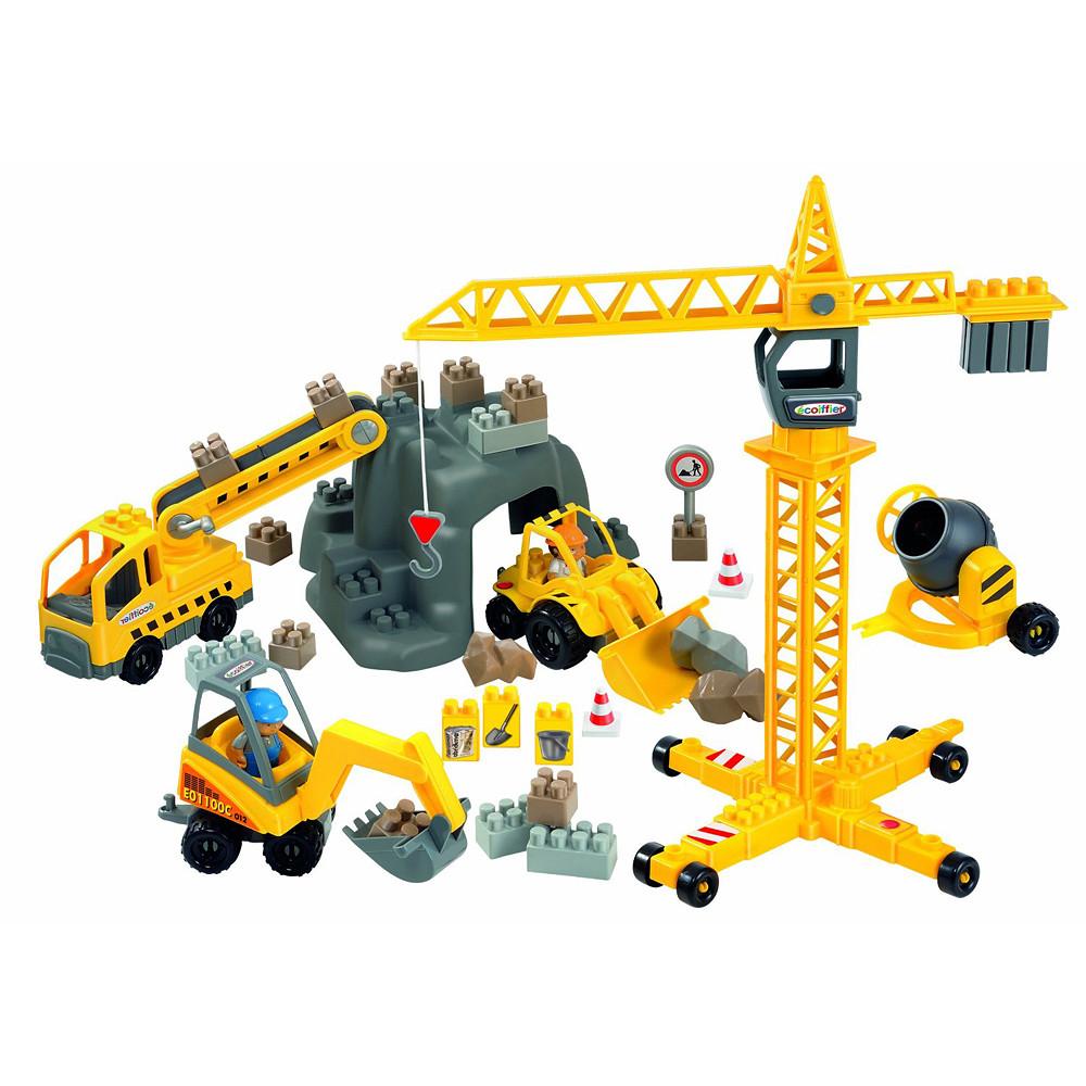 Ecoiffier Construction Site Playset