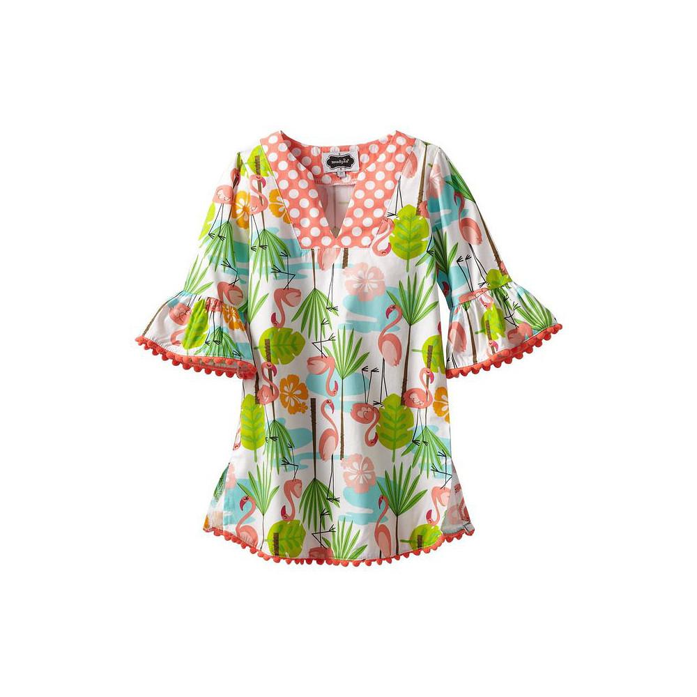 Mud Pie Flamingo Cover Up Dress